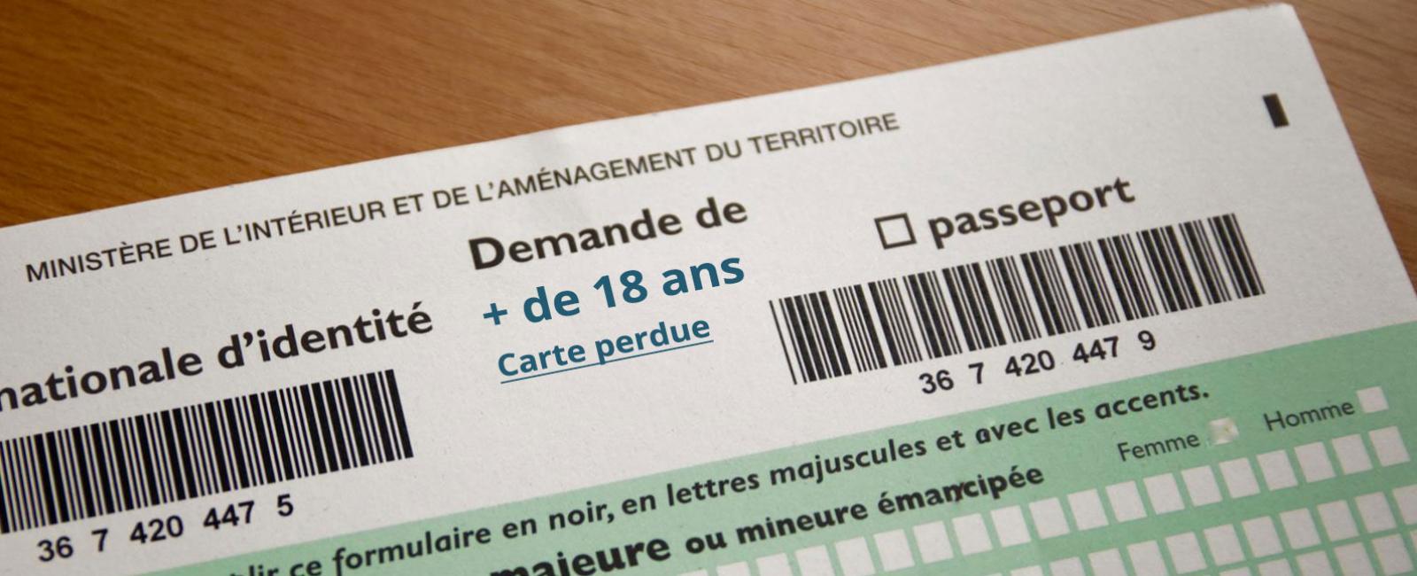 Carte Nationale D Identite D Un Majeur Carte Perdue Ville Du